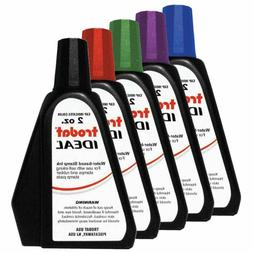 2 oz Trodat/Ideal Rubber Stamp Refill Ink For Stamps or Stam