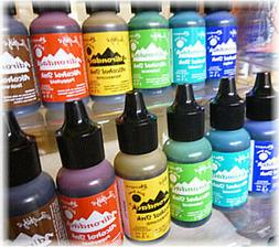 Tim Holtz Alcohol Ink 6 new Earthtone colors 2015 Conservato