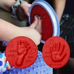 Baby Hand and Foot Print Inkpad Drying Soft Clay Baby Handpr