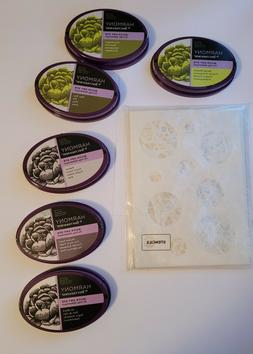 Crafter's Companion Stencils and Ink Pads