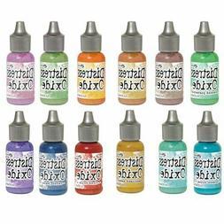 Tim Holtz Distress OXIDE Stamp pad REINKER U Choose Color Ra