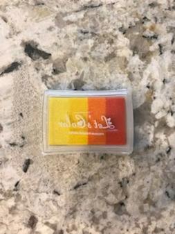 Finger Ink Stamp Pad Multicolor DIY Craft USA Seller