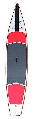FirsTOP Inflatable Race Paddle Board SUP Package 12.5ft x30i