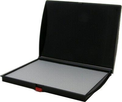 Large Stamp Pad, 5 x 7 in., Dry  Felt Surface, Shiny Brand
