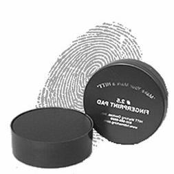 """Law Enforcement Finger Print Pad - 2 1/2"""" Diameter - 4800 Im"""