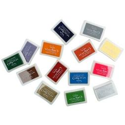 Large Rubber Stamp Craft Ink Pad Pigment For Paper Wood Fabr