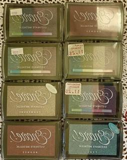 New & Sealed Encore Ultimate Metallic Ink Pad stamping embos