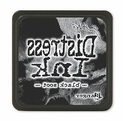 Tim Holtz Distress Mini Ink Pads-Black Soot